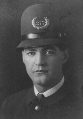 Oscar Olson, a member of the Portland Police Bureau, who had Henry Steiner build the house in 1938