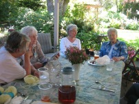Garden Home Extension Study Group 2011 - Pat Bonney, Helen Schisler, Virginia Vanture, Mildred Stevens
