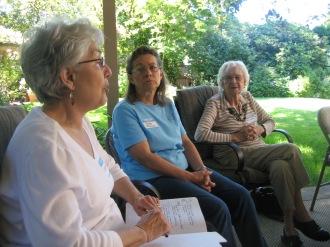 Garden Home Extension Study Group 2011 - Virginia Vanture, Sandy McKiernan, Helen Schisler