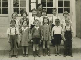 1938 Garden Home School, 1st grade