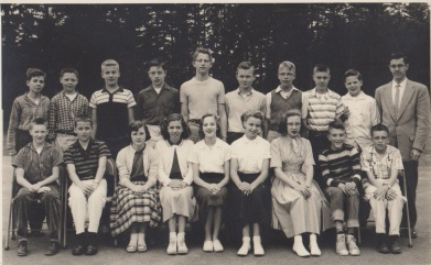 1957 Garden Home School, 7th grade
