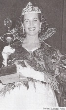 Dorothy Johnson winning Miss Oregon 1955