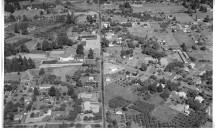 1956 aerial photo, view from the west