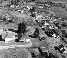 1954 aerial photo of Garden Home