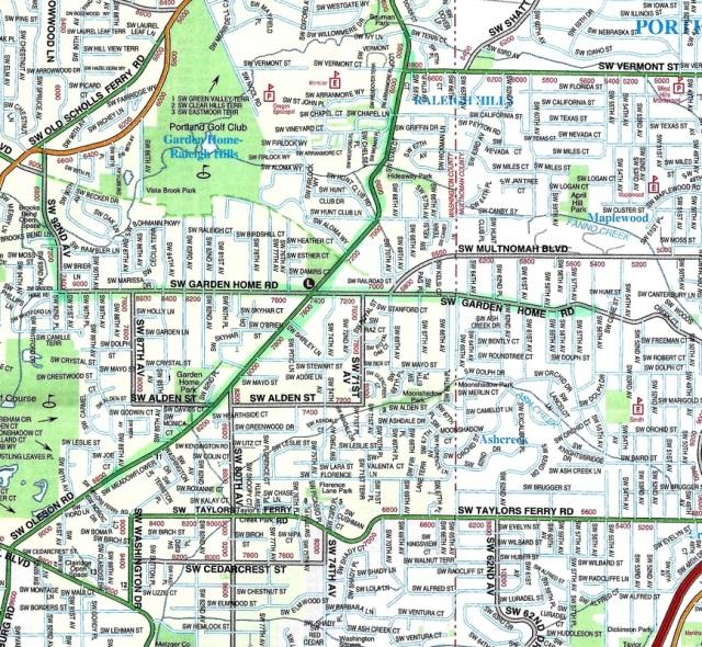2013 AAA map