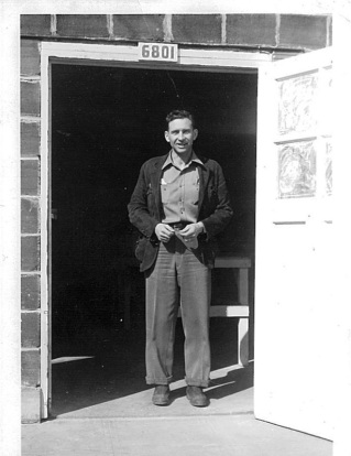 Mark Whitney at the Co-op Cannery, 1950