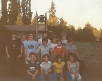 United Methodist Youth Group, late 1970's