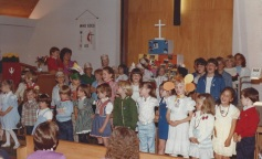 1983 United Methodist Church Bible School (inside sanctuary)