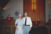 circa 1980's United Methodist Church Rev. Orville Nilsen and wife Jean