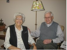 Mary and Oscar Olson, 2010