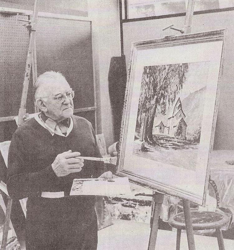 Erich Porshman, artist and sculptor