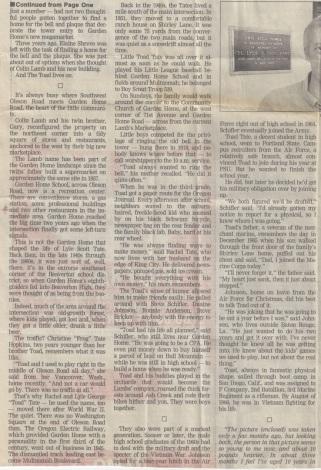 Tate newspaper article, part 2