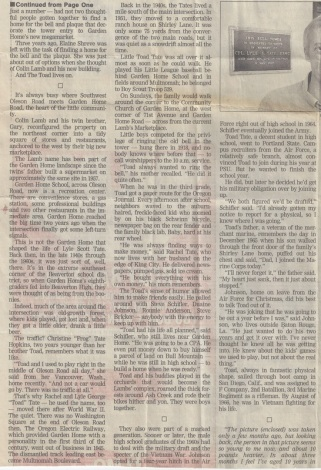 Tate newspaper article, part 2
