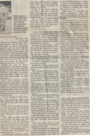 Tate newspaper article, part 3