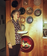 Thelma Shirley and plates