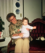 Theresa Williams and grandchild