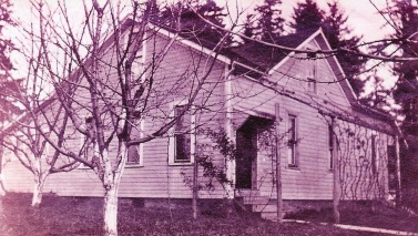 The Von Bergen home off of Oleson Rd, about 1920