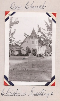 Hillsdale Evangelical and Reformed Church on Capitol Highway (vintage photo)