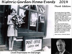 2014 Historic Garden Home Events calendar cover
