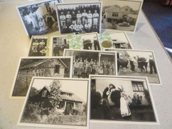 Set of eight note cards with vintage photos of Garden Home