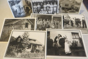 Set of eight note cards with vintage photos of Garden Home (envelopes included, not shown)