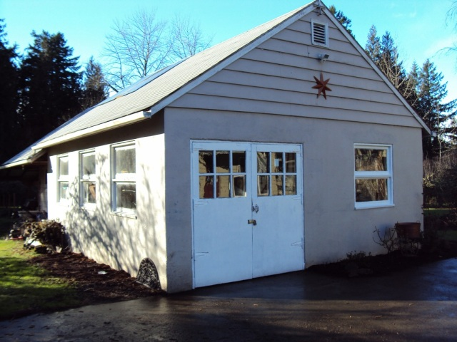 Firlock Paints Shed