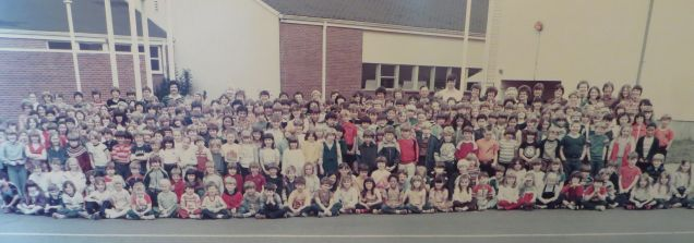 GHS 1982 Last Day - Final student body picture