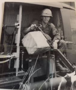 Steve Tennent, 1st Air Cav, US Army, Pleiku, South Vietnam