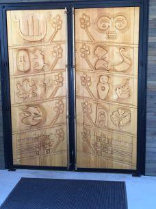 Nordia House 9' doors