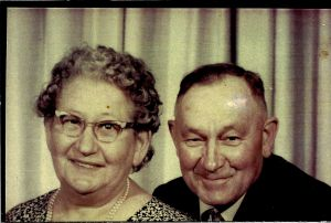 Michael and Gertrude Engel Marugg, 1965.