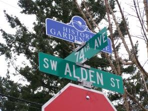 Alden, 74th