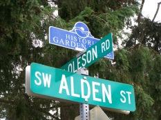 Oleson, Alden