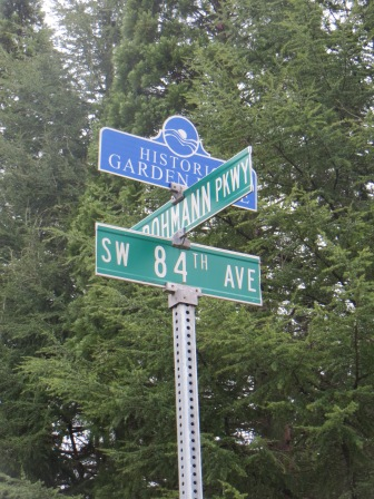SW Bohman Pkwy, and SW 84th Ave.