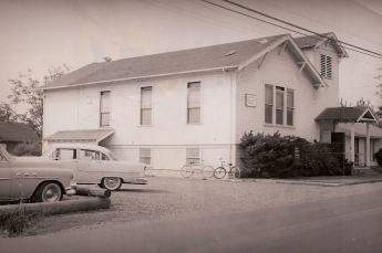 Old Community Church circa 1950's