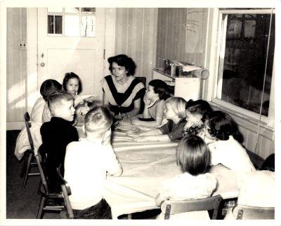 Community Church - Ardella Couch, Sunday School, circa 1950s