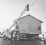 Community Church - moving sanctuary to Unitarian Fellowship 1961