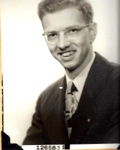 Community Church - Pastor John Wood 1961