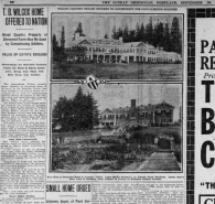 1918-09-29 page 10 Sunday Oregonian Wilcox Estate detail 1