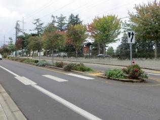 Garden on SW Oleson Rd in front of Garden Home Rec Center, 2013
