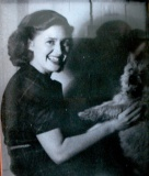 Dorothy Upchurch circa 1945