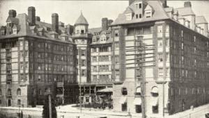 Portland Hotel exterior circa 1897 (source PARC)