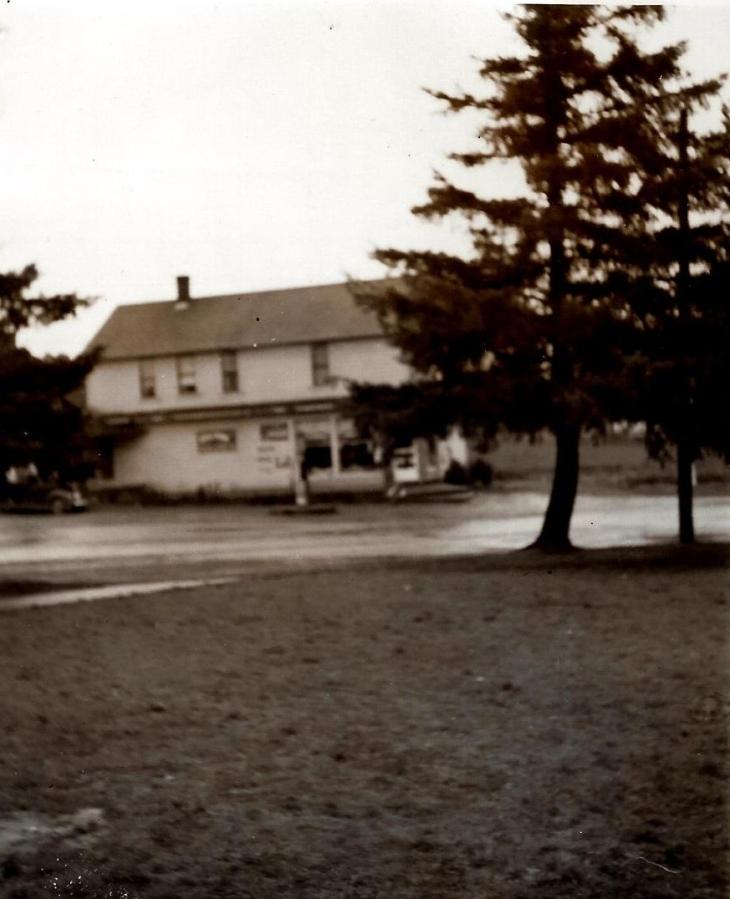 White store, circa 1940s