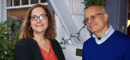 Sasha Kaplan and Matt Miner, current owners of the Bettendorf Century Home