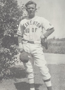 Jack Godwin baseball uniform