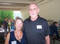 Joy Patterson and Phil Tobin