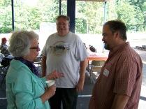 Katy Grant Hansen, Jan Fredrickson and Tom Shreve