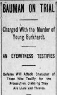 Bauman on trial