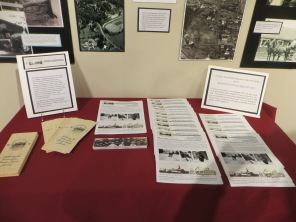 Washington County Museum display (March 2017)