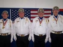Aloha American Legion Post color guard