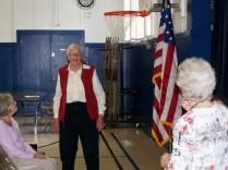 Alta Hansen recalling witnessing the 1944 plane crash